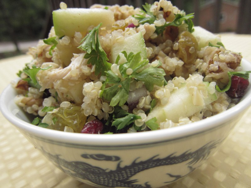 Fall Freezer Meals - Fall Flavors Quinoa Salad