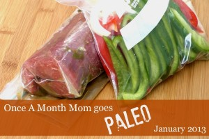 Freezer Menus for Your Paleo Lifestyle from OAMM
