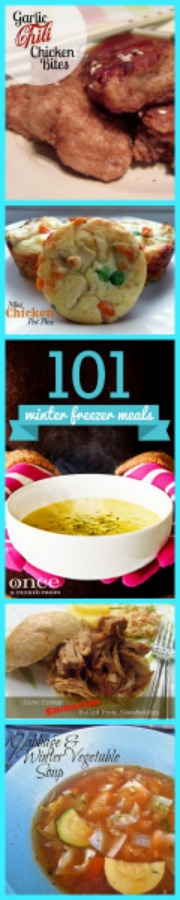 Winter Freezer Lunch Meals