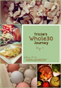 Tricia's Whole30 Journey Day 3