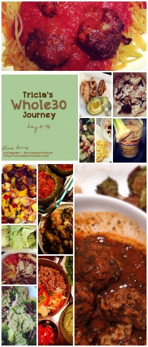 Tricia's Whole30 Journey - Days 6 -10