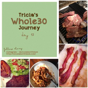 Tricia's Whole30 Journey