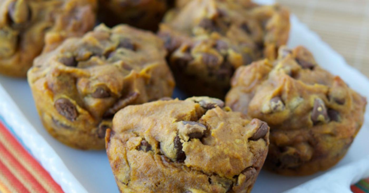 Gluten Free Dairy Free Pumpkin Chocolate Chip Muffins | Once A ...