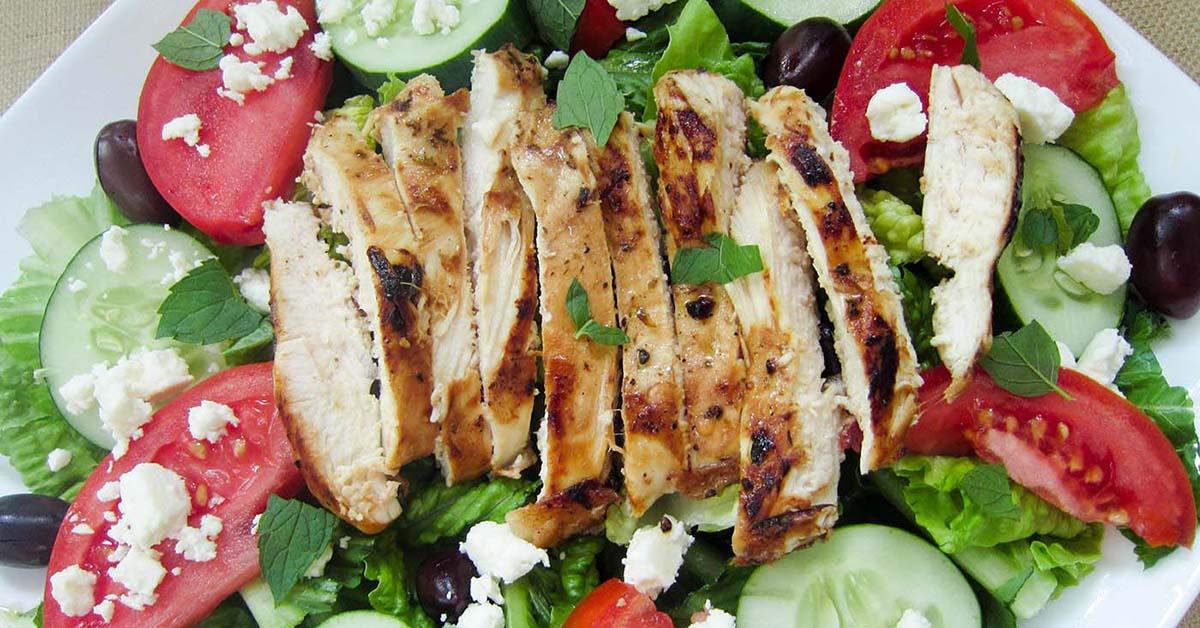 Marinated Mediterranean Chicken - Dinner Version | Once A Month Meals