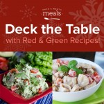 Deck the Table with Red and Green Recipes