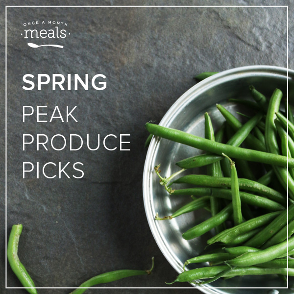 Spring Peak Produce
