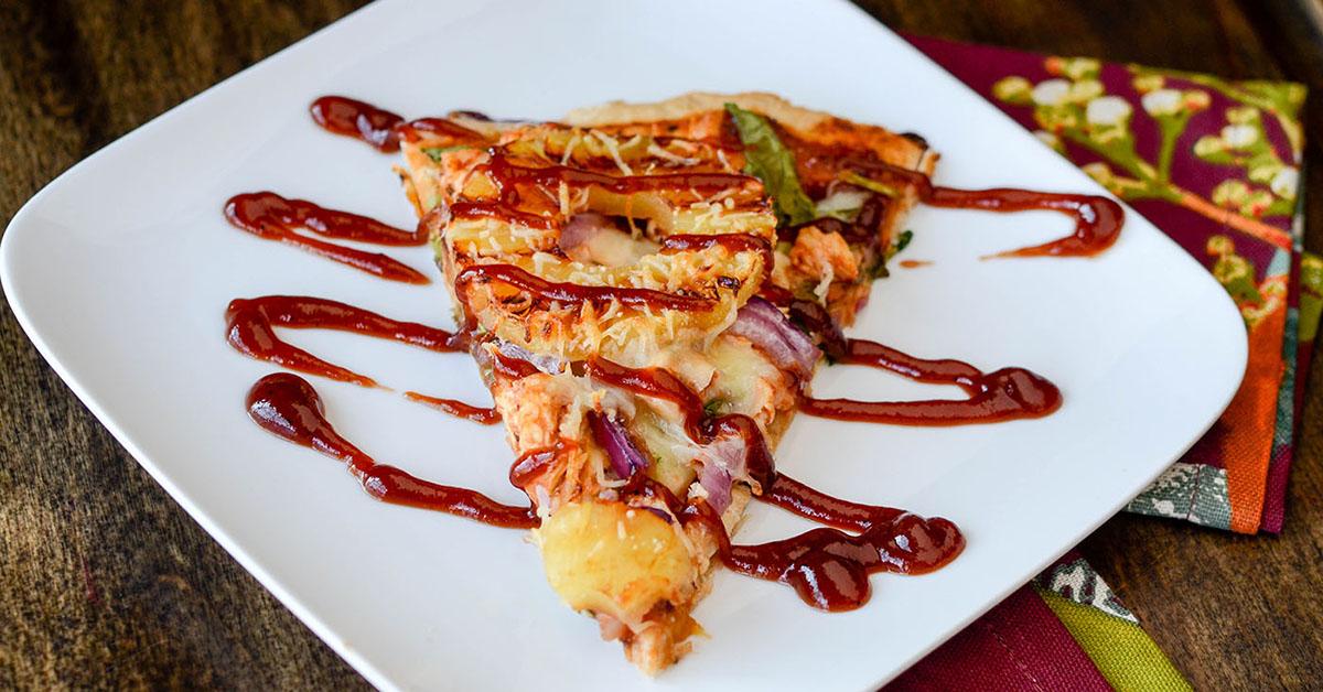 Bbq Chicken Pizza Slice Healthy Bbq Chicken Pizza Recipe Abc News ...