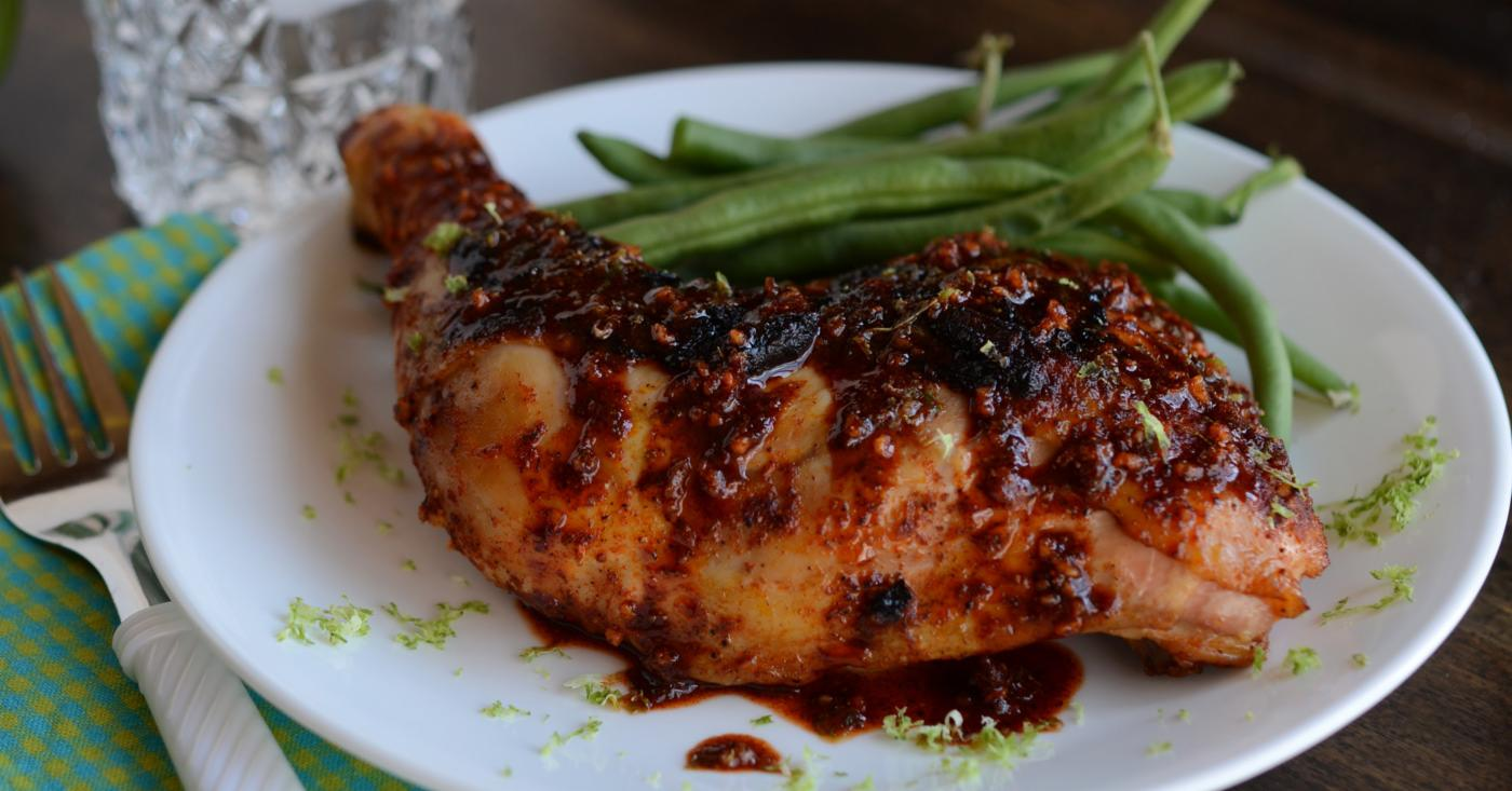 Instant Pot Spicy Garlic Lime Chicken | Once A Month Meals