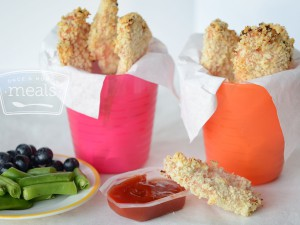 School Lunch Ideas - Chicken Stix