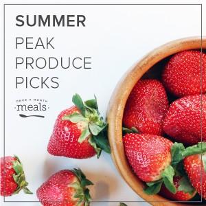 Summer Peak Produce