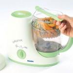 Beaba Babycook makes freezing baby food easy