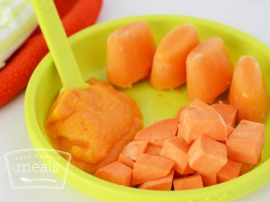 Baby Food Sweet Potato Puree (4-6 months)