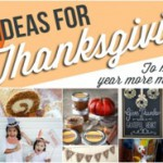 10 Ideas for Thanksgiving