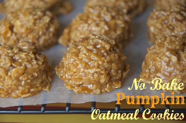 Fall Freezer Meals - Pumpkin No Bake Cookies