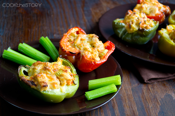 Stuffed Pepper Recipes from OAMM Blog Partner Christine @ Cook the Story