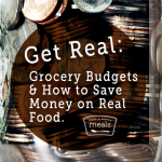 Grocery Budget for real food