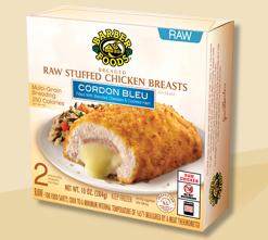 Copycat Chicken Cordon Bleu - Make Your Own Freezer Meals!