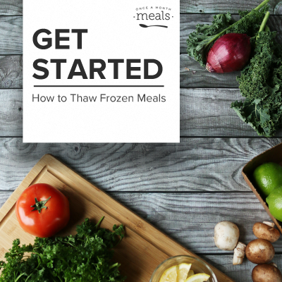 Get Started How to Thaw Frozen Meals