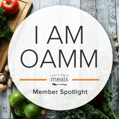 I am OAMM - Once a Month Meals Member Spotlight