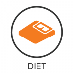 Diet Menu Badge with Icon