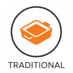 Traditional Menu Badge with Icon
