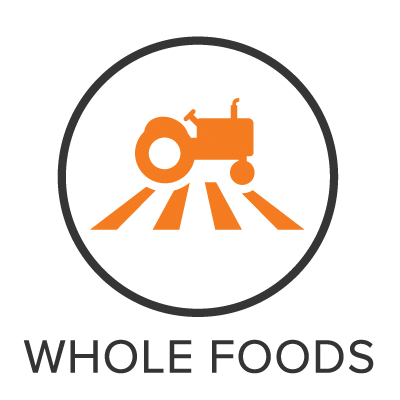 Whole Foods Menu Badge with Icon