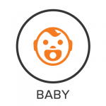 Baby Menu Badge with Icon