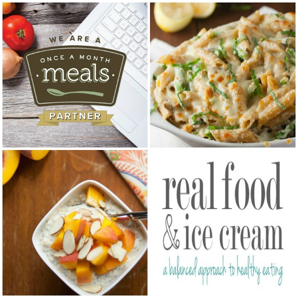 blog partner real food and ice cream