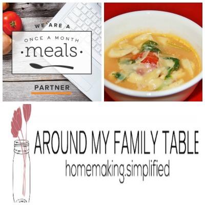 OAMM Blog Partner Wendy Around My Family Table