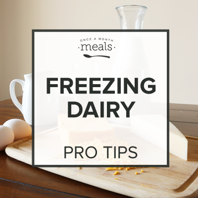 How to Freeze Dairy Products - Pro Tip