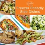 Freezer Friendly Side Dishes