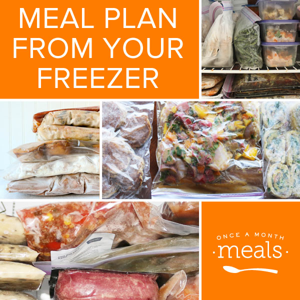 Meal Plan from Your Freezer