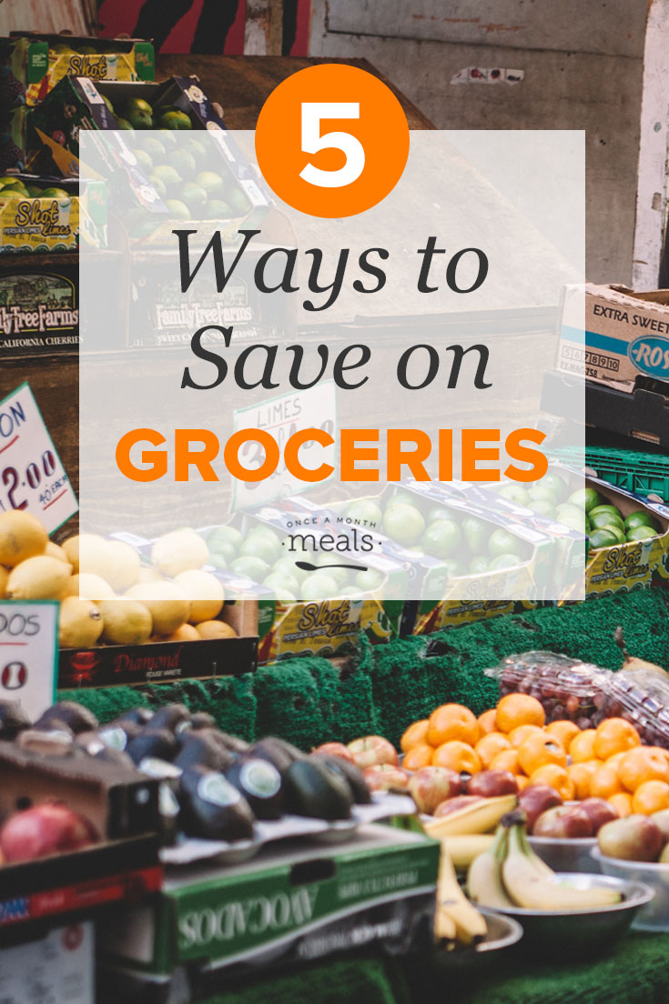 5 Ways to Save on Groceries