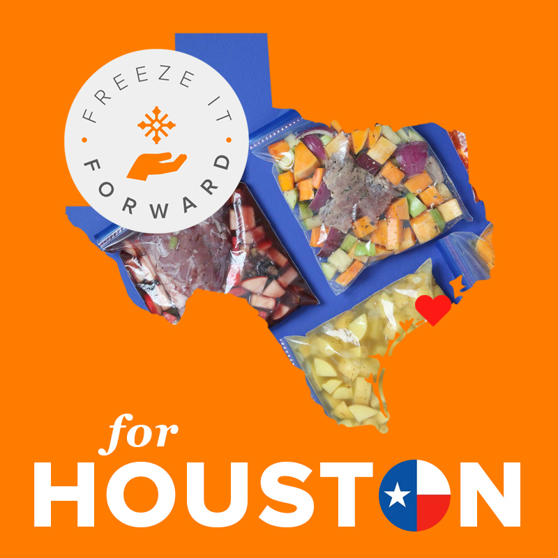 Hurricane Harvey (Houston) Freeze It Forward