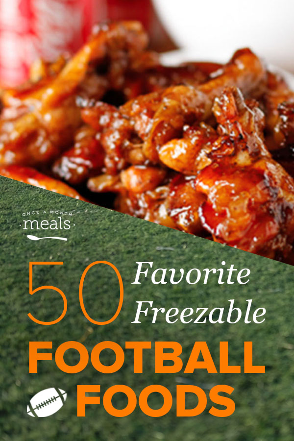 50 Favorite Freezable Football Foods