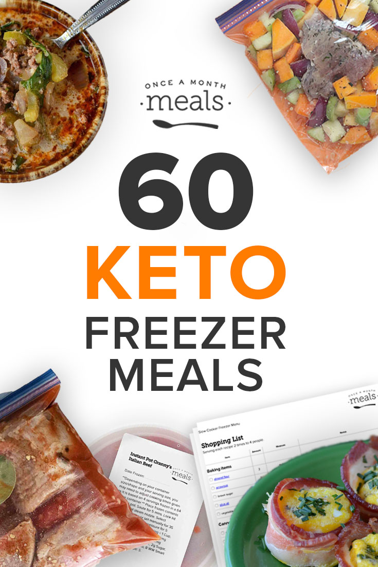 We have 60 Keto recipes that can be cooked & frozen so you can stick to your Ketogenic diet! All Recipes are: Low Carb, High Fat, and Grain Free!