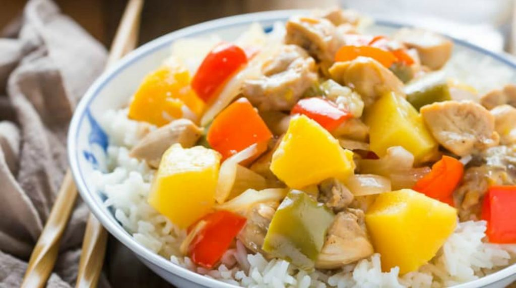 Instant Pot Sweet and Sour Pork via Gluten Free Pressure Cooker