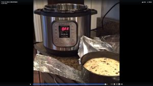 Instant Pot First Attempt at Making Cheesecake – Part 2