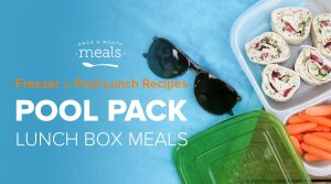 Pool Pack Lunches and Snacks On The Go