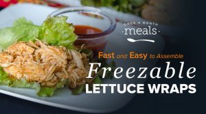 How to Make Lettuce Wraps for the Freezer!