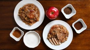 Instant Pot Apple Pie Pork Chops