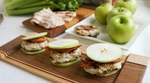 Chicken Apple Bacon Sliders