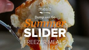 Dump and Go Summer Sliders for the Freezer!