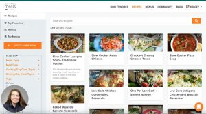 How to Search and Filter for Recipes