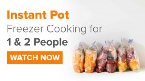 Instant Pot Cooking for 1 & 2 People