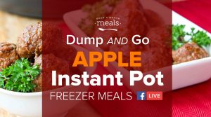 Instant Pot Apple-Inspired Recipes for Fall Meal Prepping!