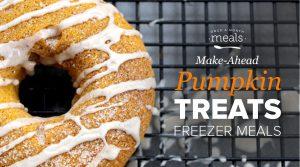 Make-ahead these Pumpkin Treats for Fall!