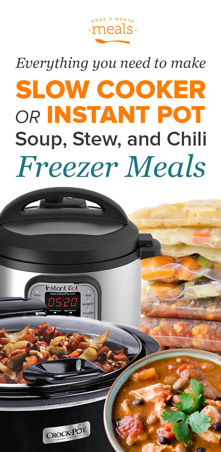 2-n-1 Soups, Stews, and Chilis Instant Pot or Slow Cooker Menu