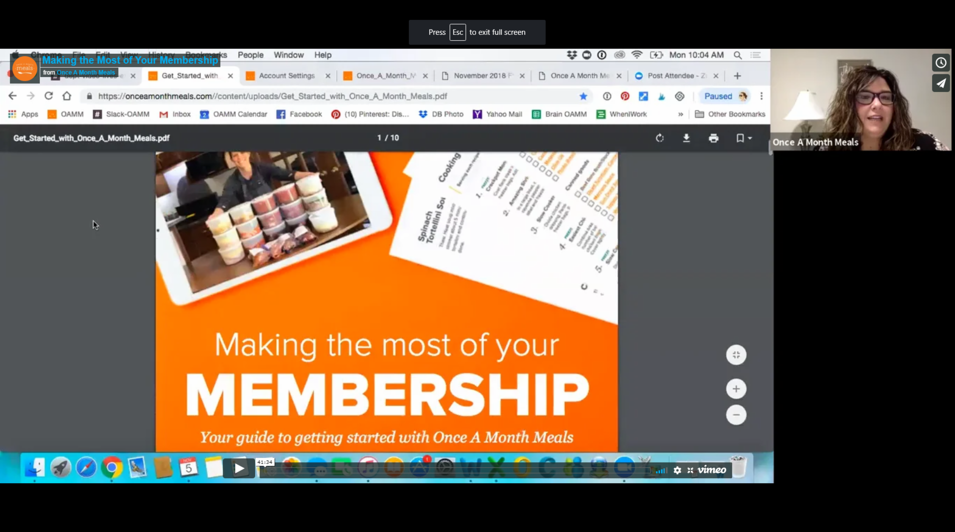 Making the Most of Your Membership – 2018