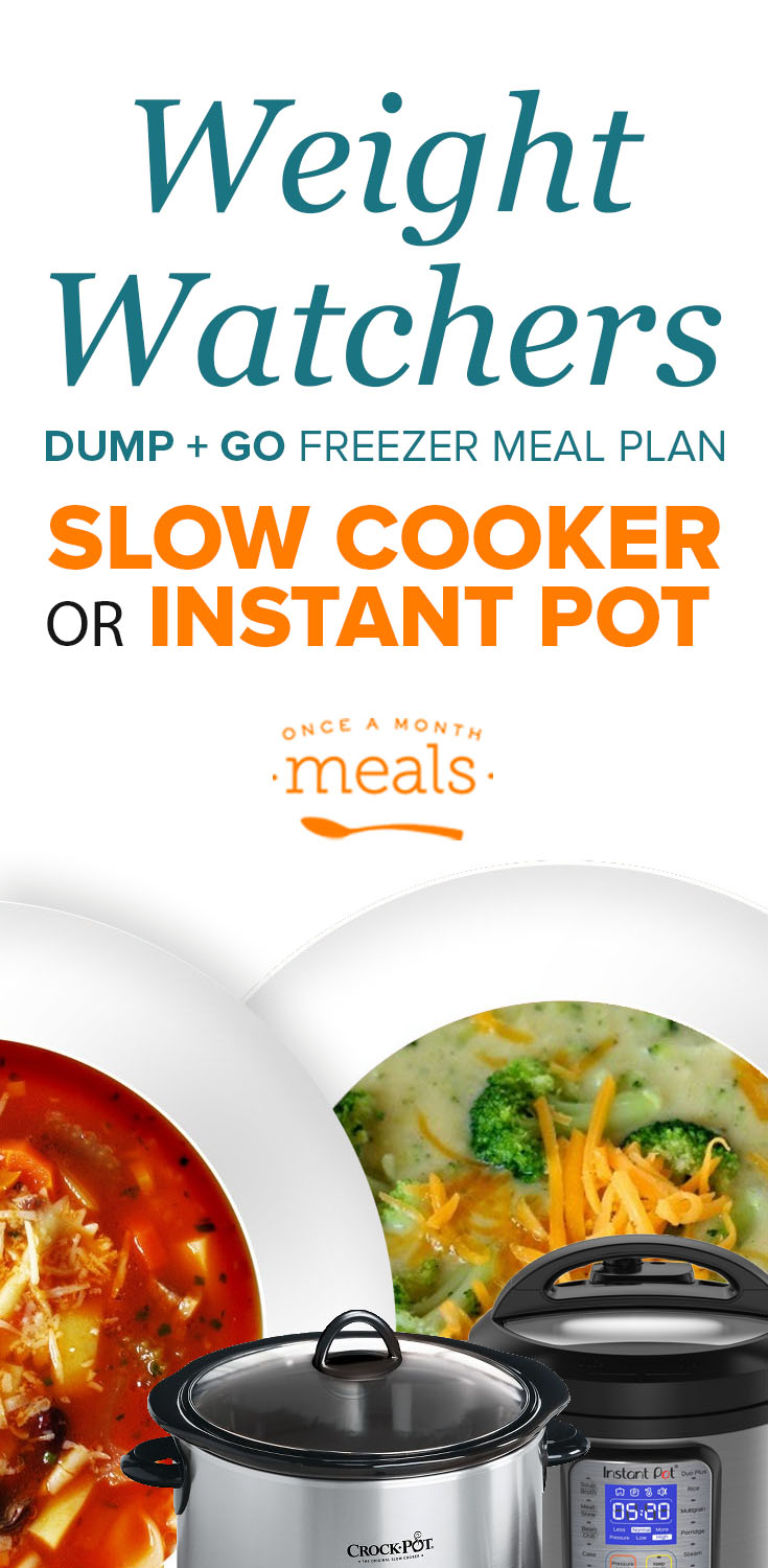 2-n-1 Weight Watchers Instant Pot or Slow Cooker Menu